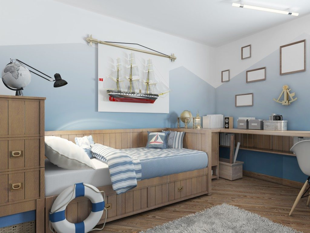 Teen's bed room design