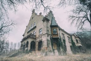 Old spooky building