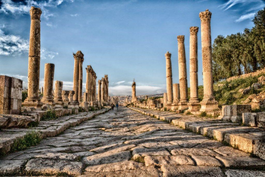 jerash jordan classical site