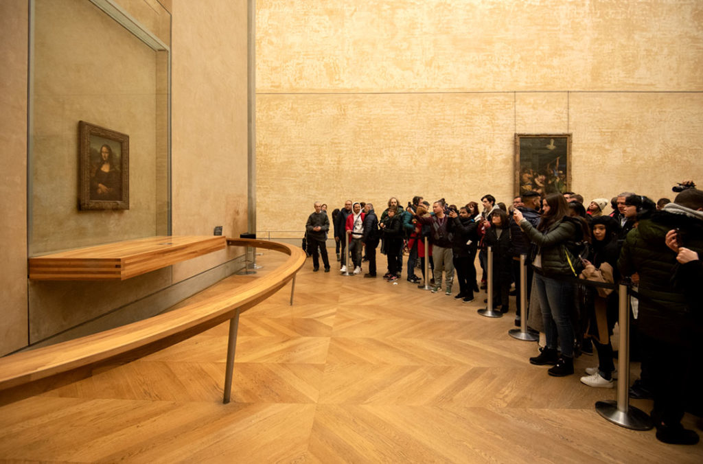 Seeing Mona Lisa