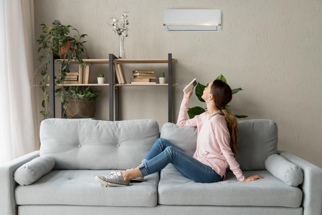 woman living alone